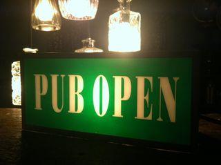 Pub open